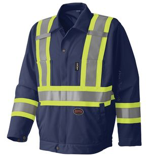 Hi Viz Traffic Safety Jacket